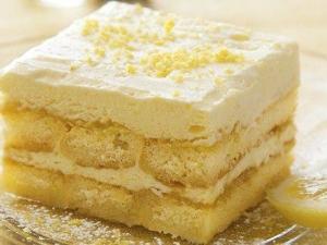 Limoncello Tiramisù Cake